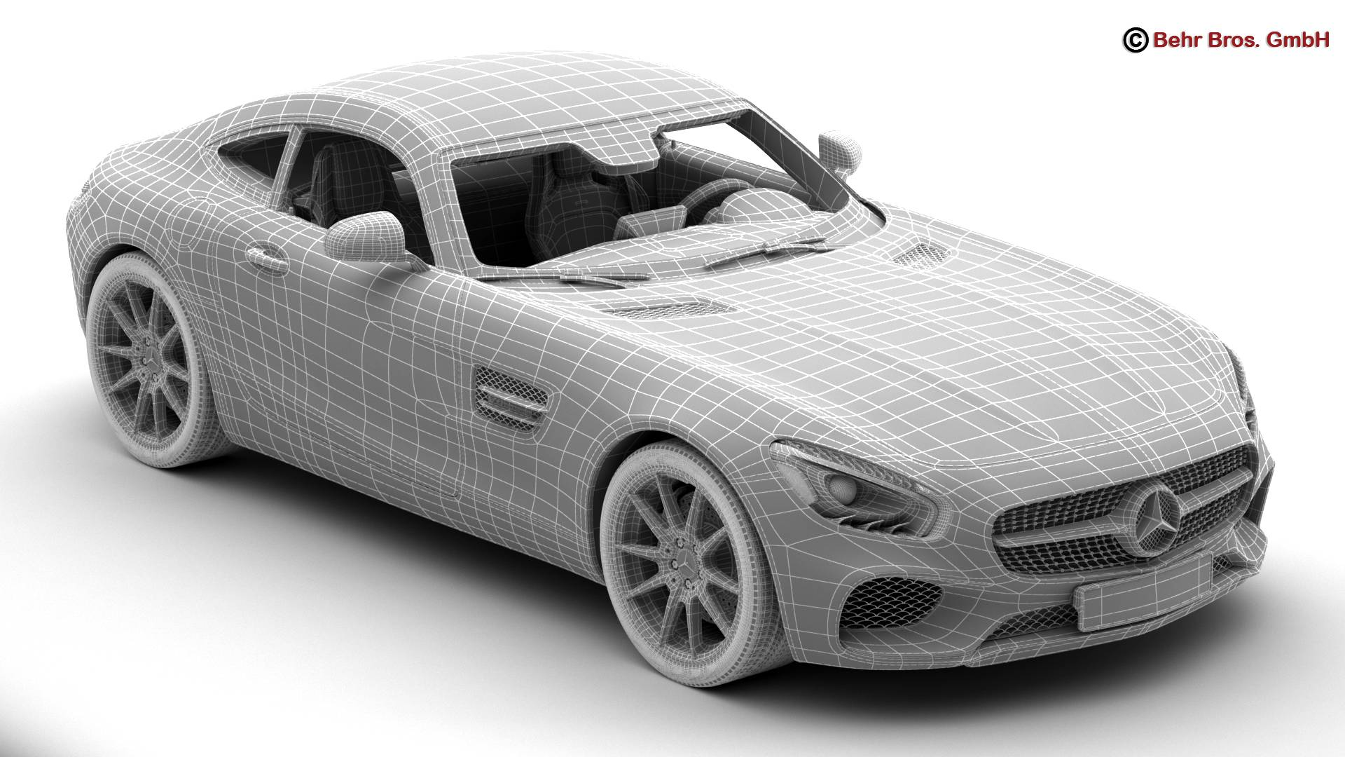 mercedes amg gt 2015 eu and us version 3d model 3ds max fbx c4d lwo ma mb obj 210127