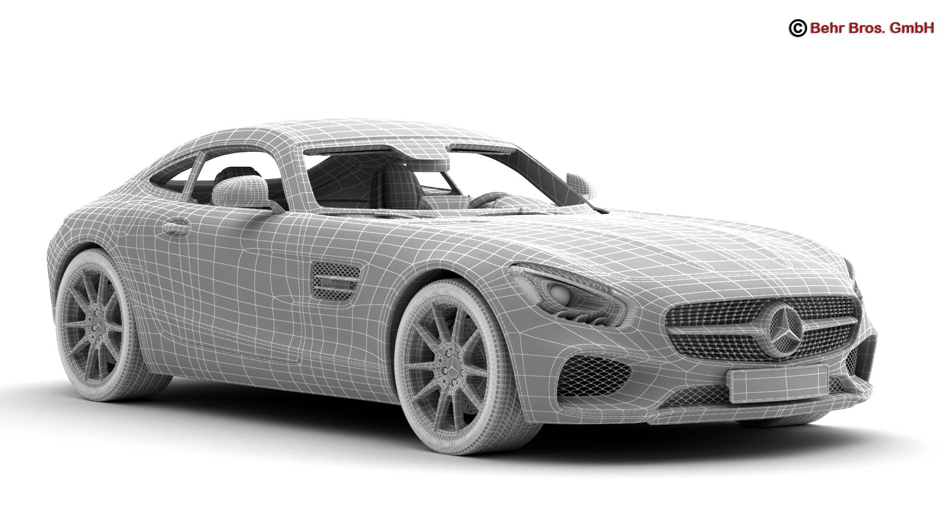 mercedes amg gt 2015 eu and us version 3d model 3ds max fbx c4d lwo ma mb obj 210128