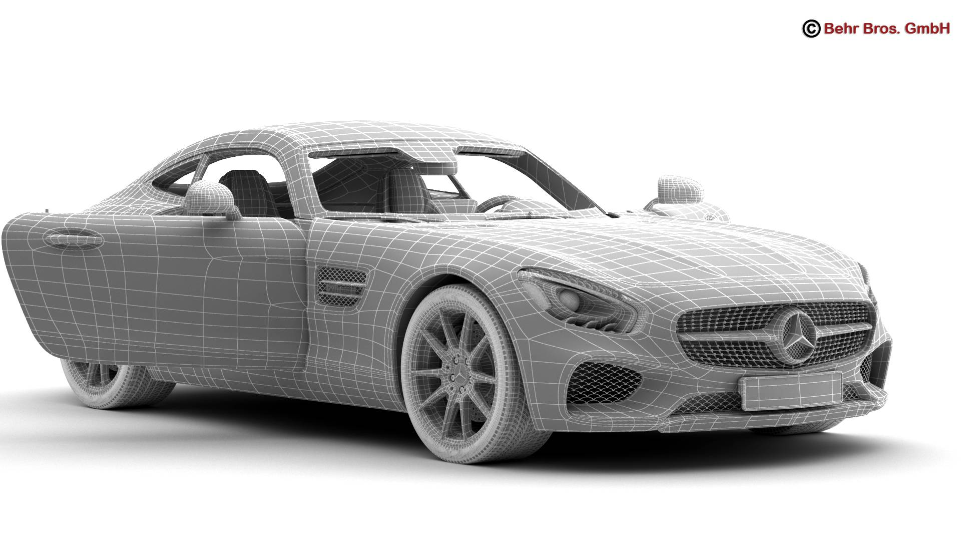 mercedes amg gt 2015 eu and us version 3d model 3ds max fbx c4d lwo ma mb obj 210129