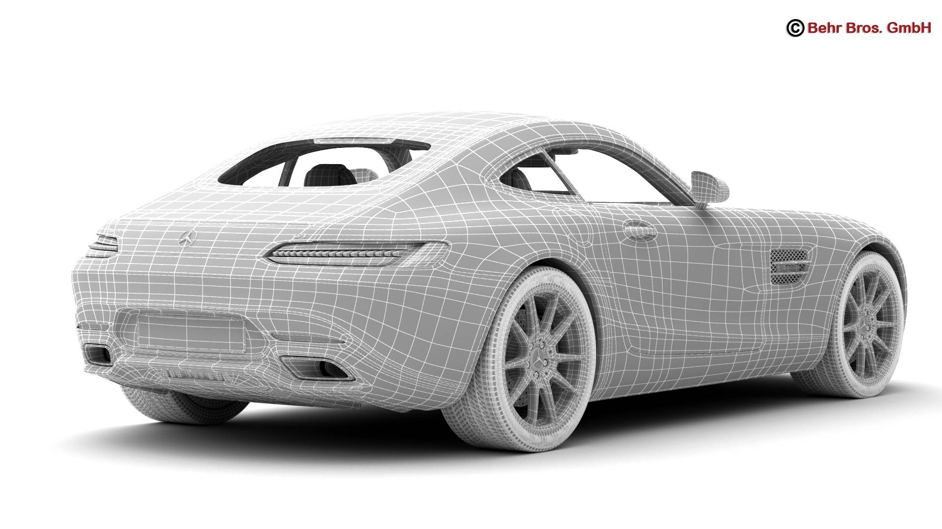 mercedes amg gt 2015 eu and us version 3d model 3ds max fbx c4d lwo ma mb obj 210130