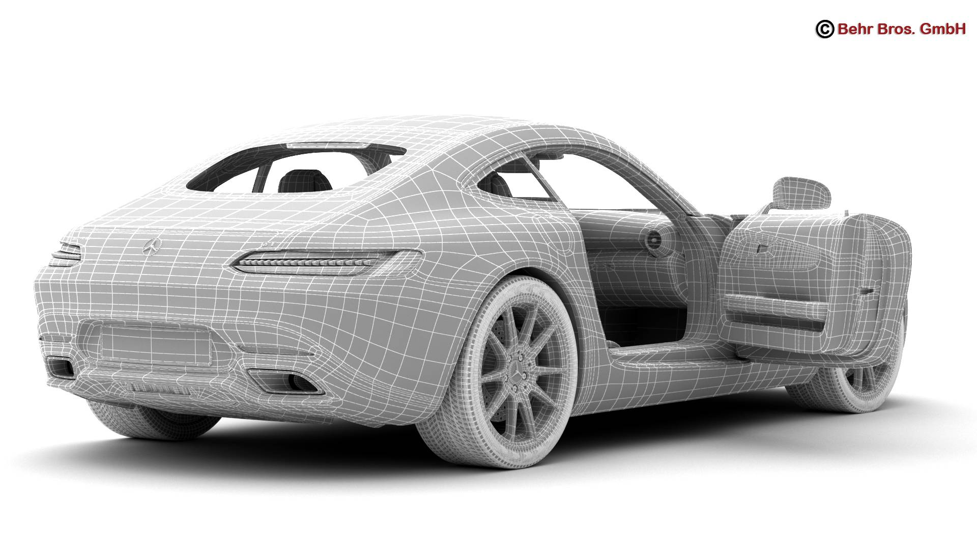 mercedes amg gt 2015 eu and us version 3d model 3ds max fbx c4d lwo ma mb obj 210131