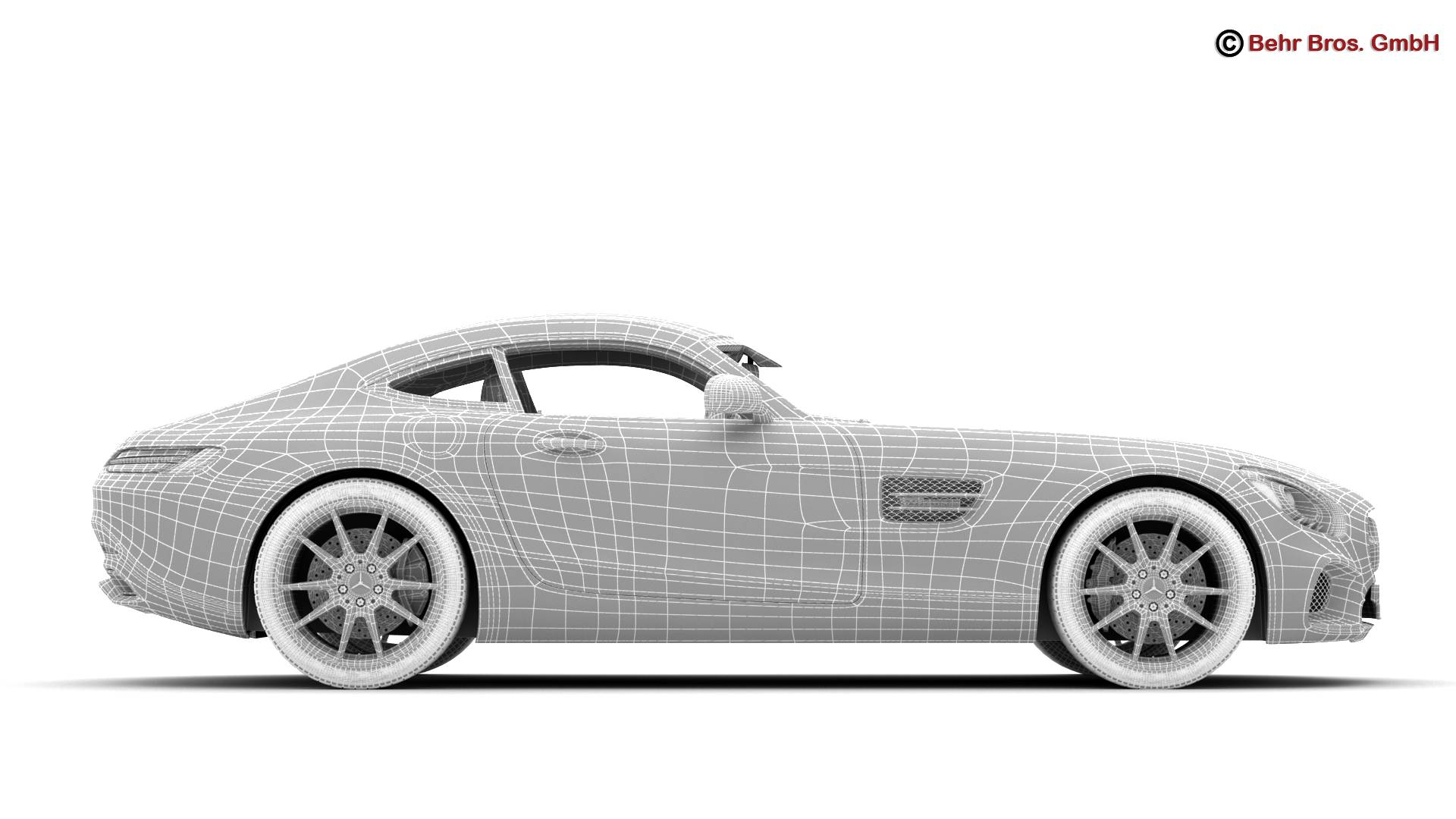 mercedes amg gt 2015 eu and us version 3d model 3ds max fbx c4d lwo ma mb obj 210132