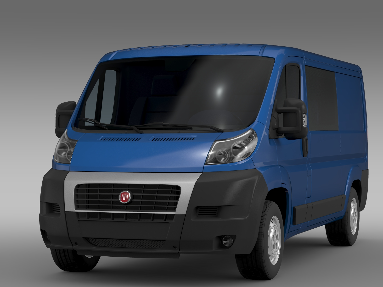 fiat ducato combi l2h1 2006 2014 3d model buy fiat ducato combi l2h1 2006 2014 3d model. Black Bedroom Furniture Sets. Home Design Ideas