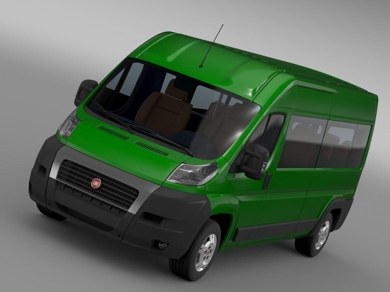 fiat ducato maxi bus l4h2 2006-2014 3d model 3ds max fbx c4d lwo ma mb hrc xsi obj 210324