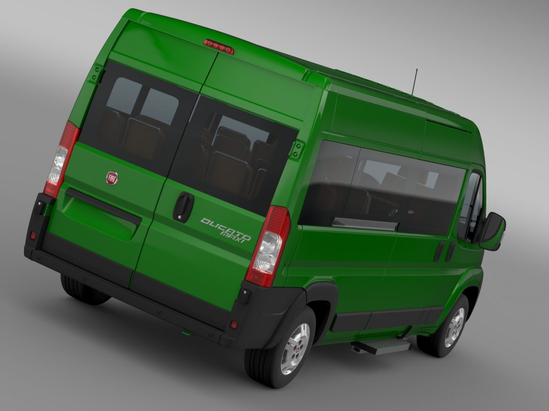 fiat ducato maxi bus l4h2 2006-2014 3d model 3ds max fbx c4d lwo ma mb hrc xsi obj 210325
