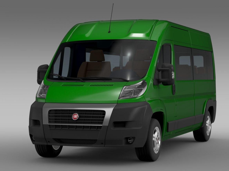 fiat ducato maxi bus l4h2 2006-2014 3d model 3ds max fbx c4d lwo ma mb hrc xsi obj 210326