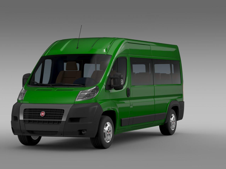 fiat ducato maxi bus l4h2 2006-2014 3d model 3ds max fbx c4d lwo ma mb hrc xsi obj 210327