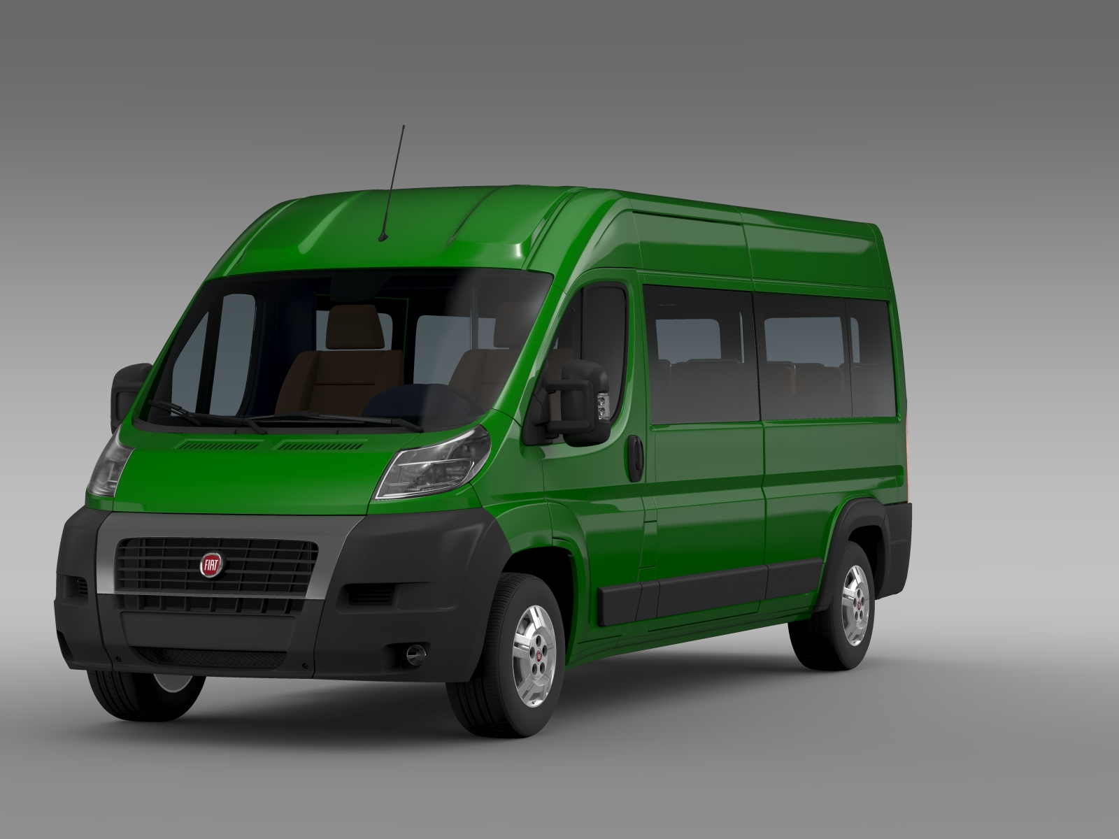 fiat ducato maxi bus l4h2 2006 2014 3d model flatpyramid. Black Bedroom Furniture Sets. Home Design Ideas