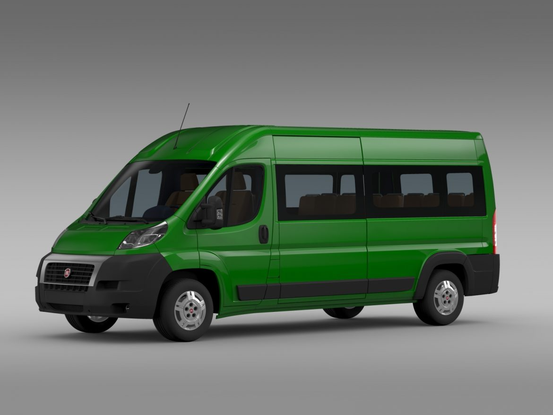 fiat ducato maxi bus l4h2 2006-2014 3d model 3ds max fbx c4d lwo ma mb hrc xsi obj 210328