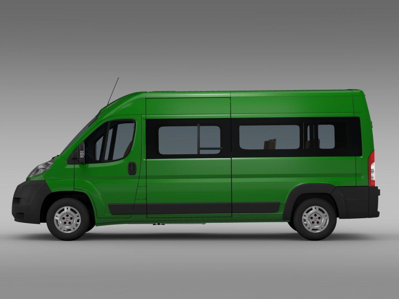 fiat ducato maxi bus l4h2 2006-2014 3d model 3ds max fbx c4d lwo ma mb hrc xsi obj 210329