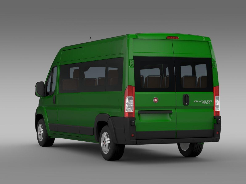 fiat ducato maxi bus l4h2 2006-2014 3d model 3ds max fbx c4d lwo ma mb hrc xsi obj 210331
