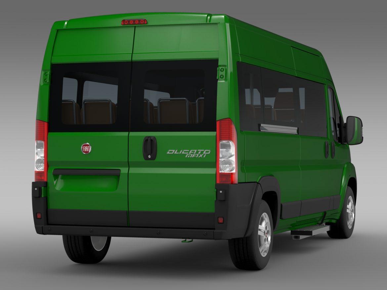 fiat ducato maxi bus l4h2 2006-2014 3d model 3ds max fbx c4d lwo ma mb hrc xsi obj 210332