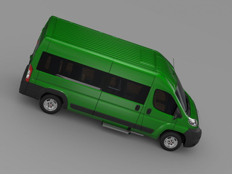 fiat ducato maxi bus l4h2 2006-2014 3d model 3ds max fbx c4d lwo ma mb hrc xsi obj 210334