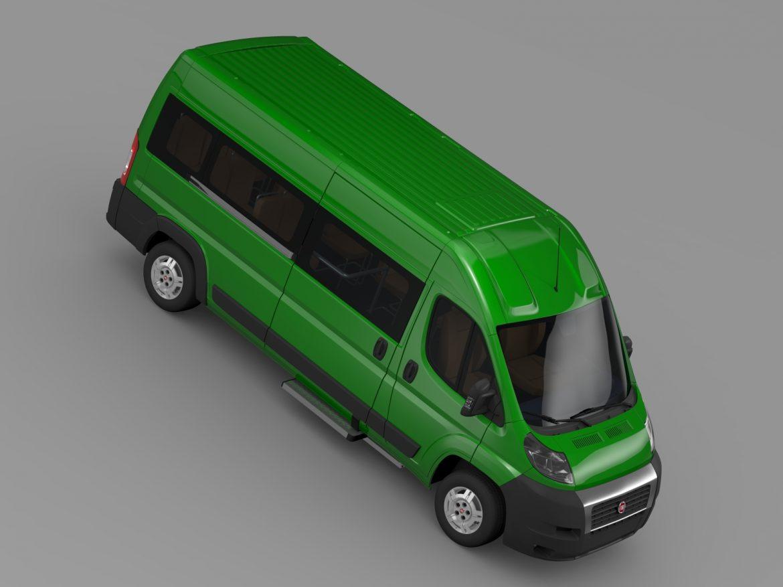 fiat ducato maxi bus l4h2 2006-2014 3d model 3ds max fbx c4d lwo ma mb hrc xsi obj 210335