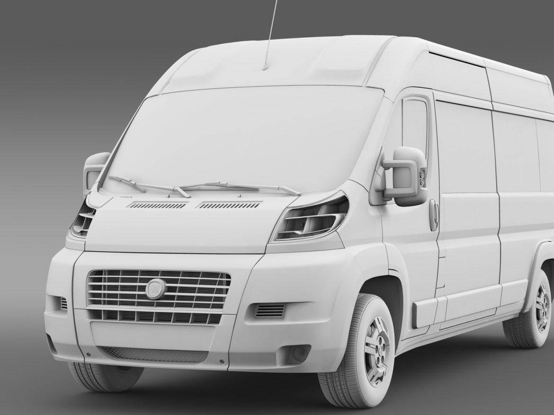 fiat ducato maxi bus l4h2 2006-2014 3d model 3ds max fbx c4d lwo ma mb hrc xsi obj 210338