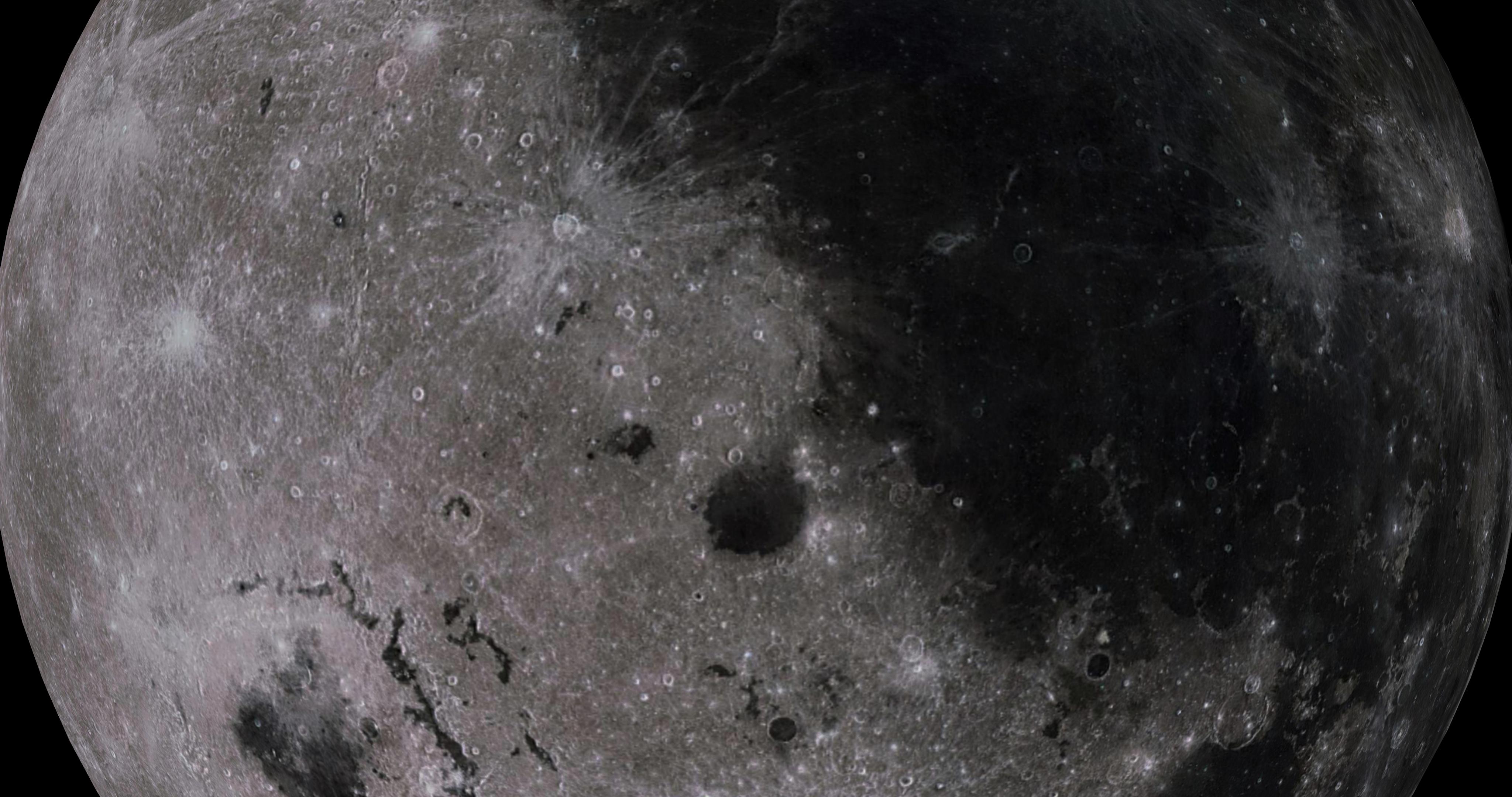 moon 4k 3d model 3ds fbx blend dae obj 210479