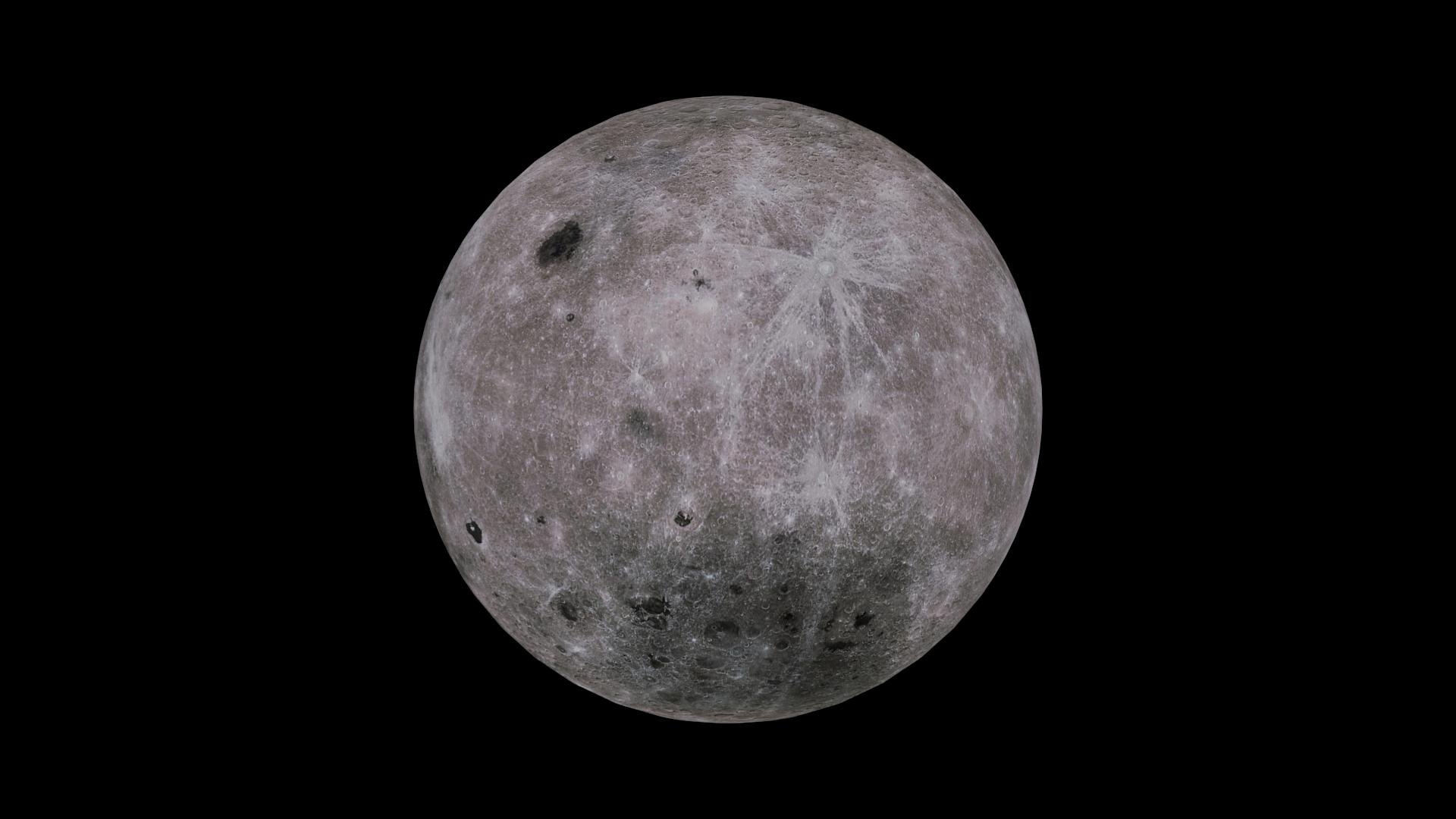 moon 4k 3d model 3ds fbx blend dae obj 210480