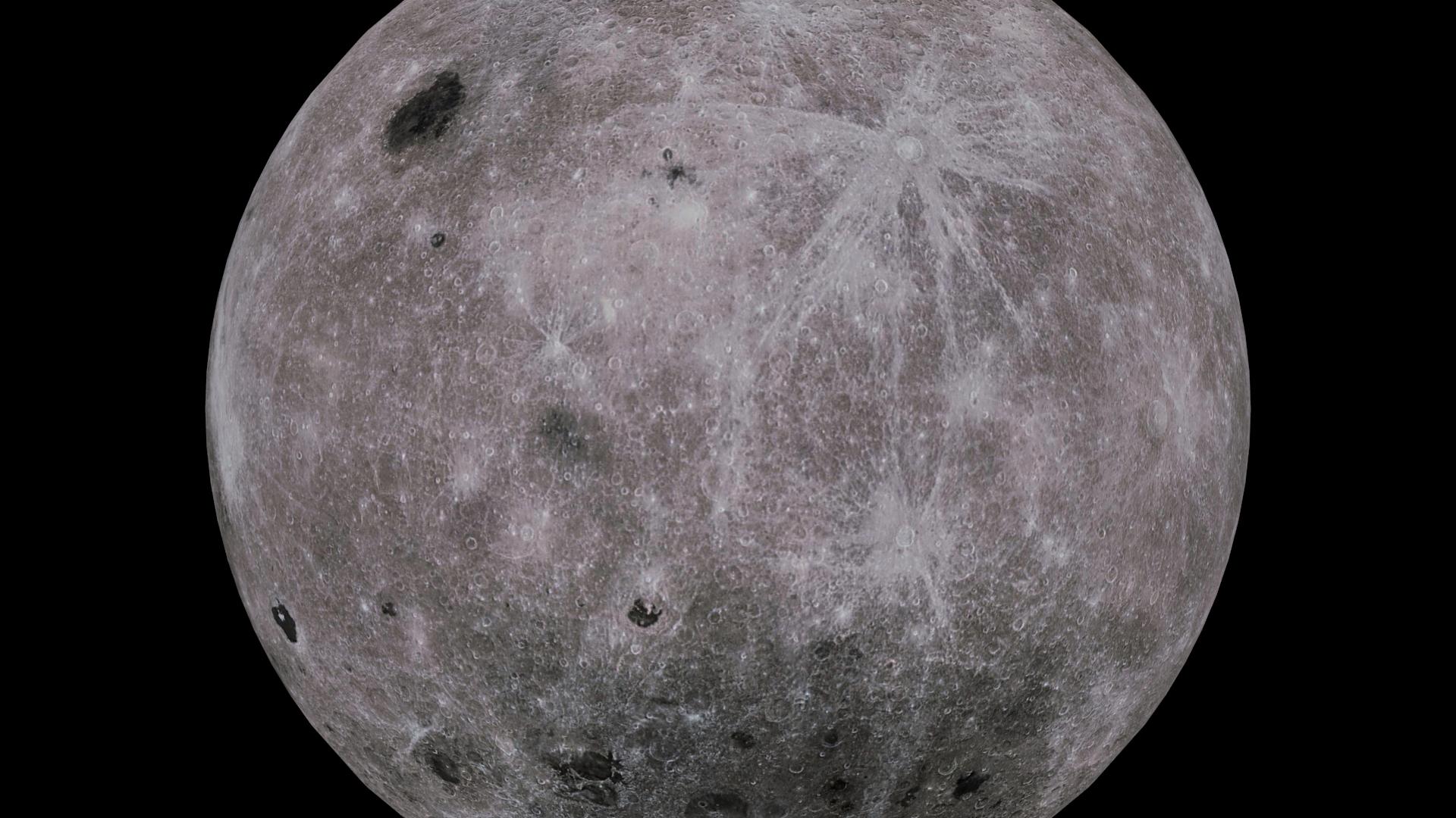 moon 4k 3d model 3ds fbx blend dae obj 210481