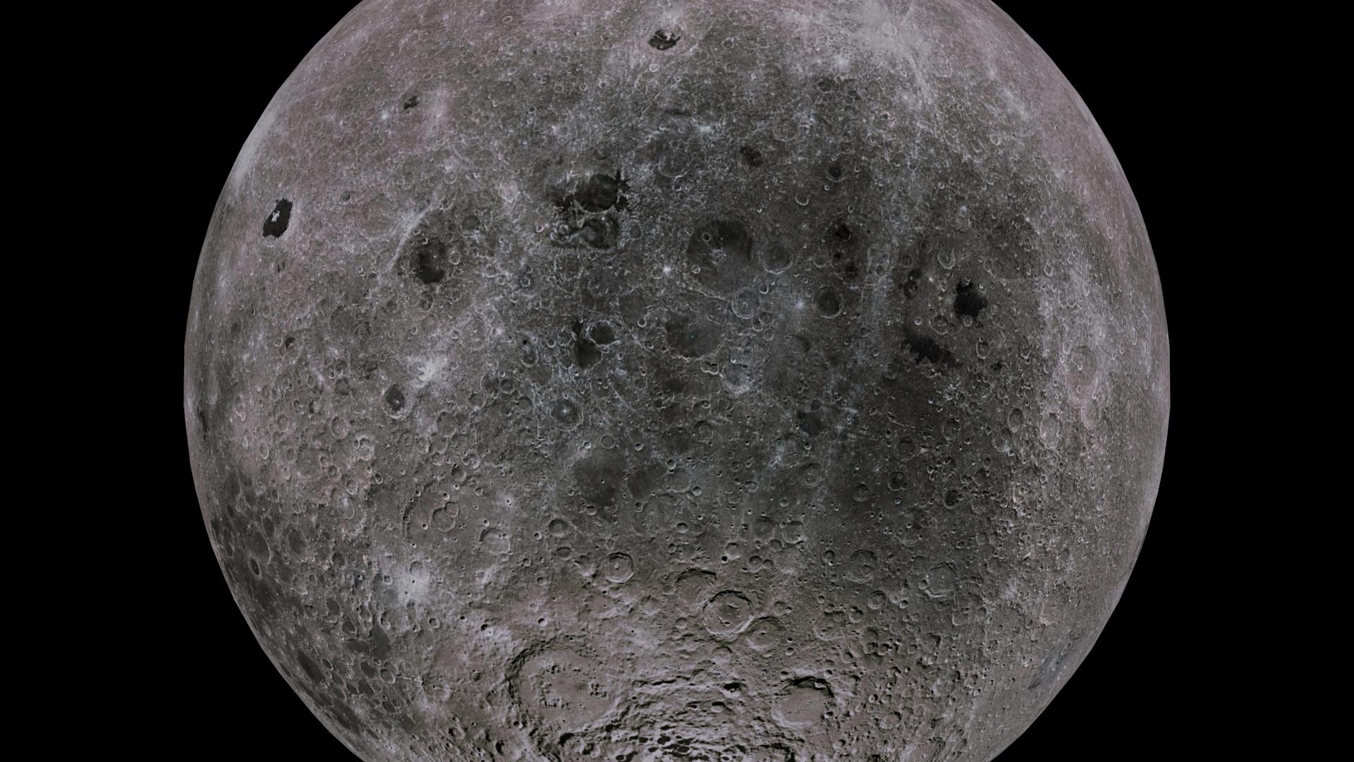moon 4k 3d model 3ds fbx blend dae obj 210484