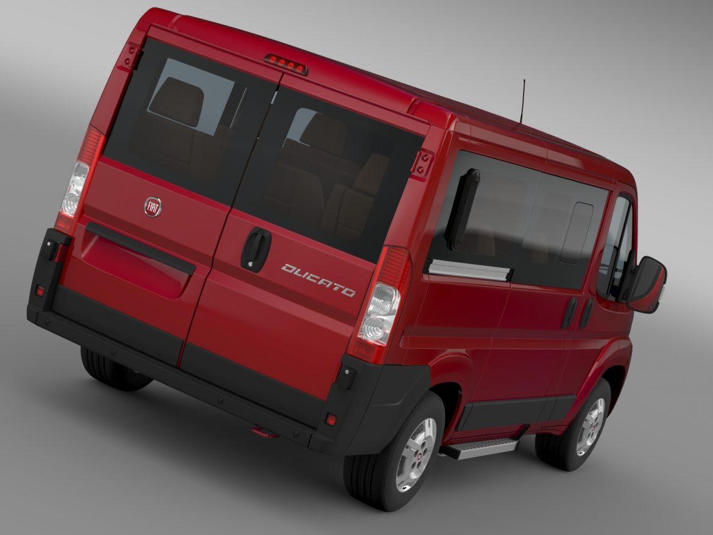 fiat ducato mini bus l1h1 2006-2014 3d model 3ds max fbx c4d lwo ma mb hrc xsi obj 210560