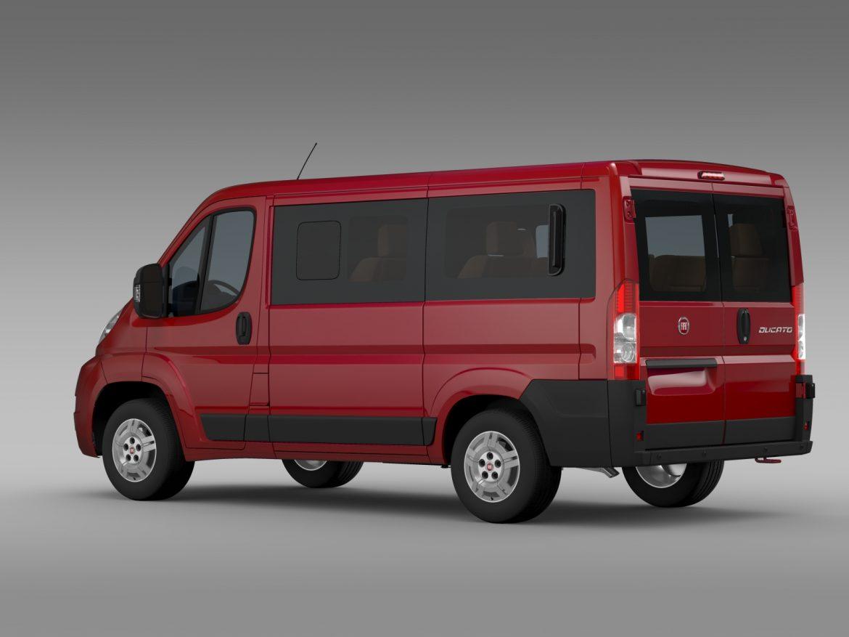 fiat ducato mini bus l1h1 2006-2014 3d model 3ds max fbx c4d lwo ma mb hrc xsi obj 210565