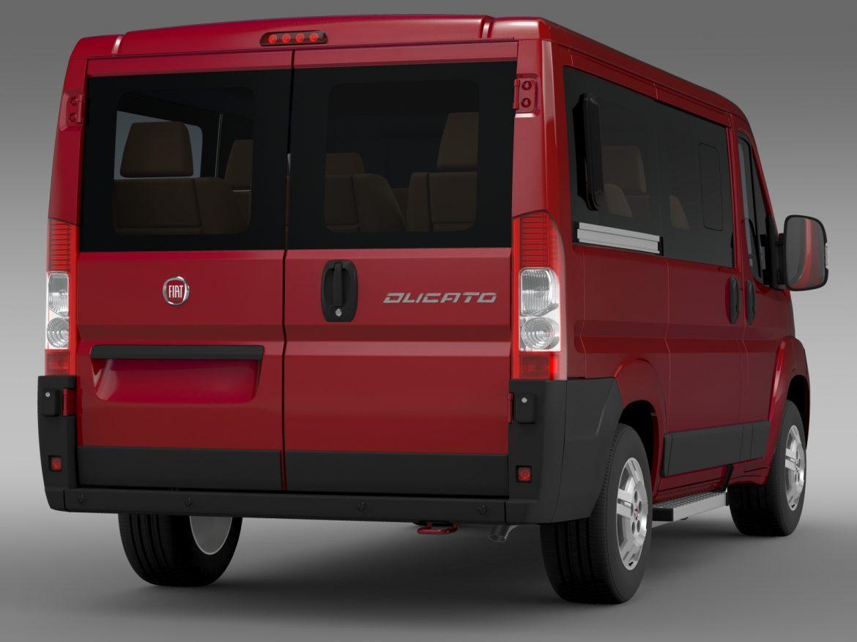 fiat ducato mini bus l1h1 2006-2014 3d model 3ds max fbx c4d lwo ma mb hrc xsi obj 210567