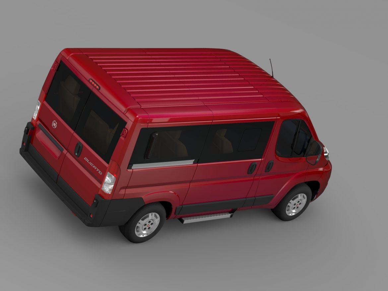 fiat ducato mini bus l1h1 2006-2014 3d model 3ds max fbx c4d lwo ma mb hrc xsi obj 210568