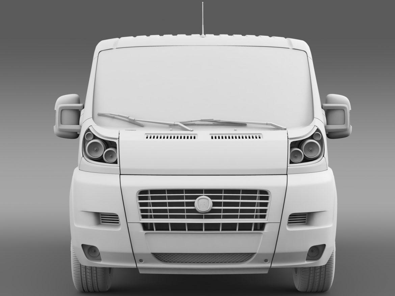 fiat ducato mini bus l1h1 2006-2014 3d model 3ds max fbx c4d lwo ma mb hrc xsi obj 210571
