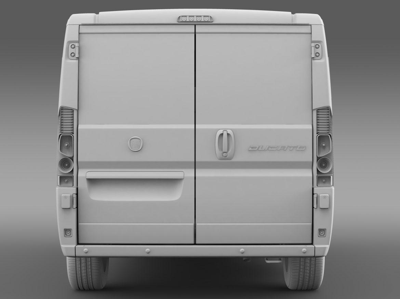 fiat ducato mini bus l1h1 2006-2014 3d model 3ds max fbx c4d lwo ma mb hrc xsi obj 210572
