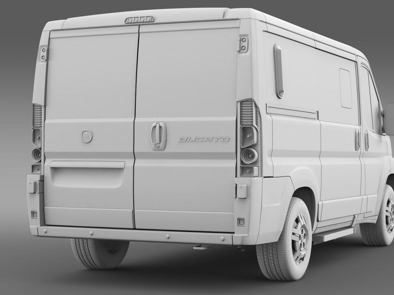 fiat ducato mini bus l1h1 2006-2014 3d model 3ds max fbx c4d lwo ma mb hrc xsi obj 210574