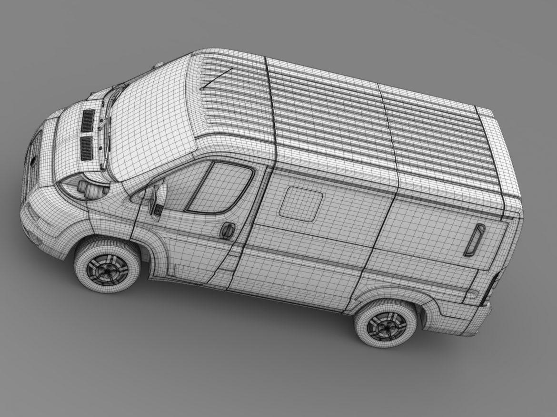 fiat ducato mini bus l1h1 2006-2014 3d model 3ds max fbx c4d lwo ma mb hrc xsi obj 210576