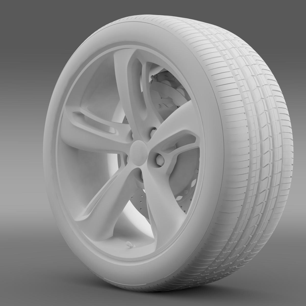 bentley continental gt speed 2015 wheel 3d model 3ds max fbx c4d lwo ma mb hrc xsi obj 210585
