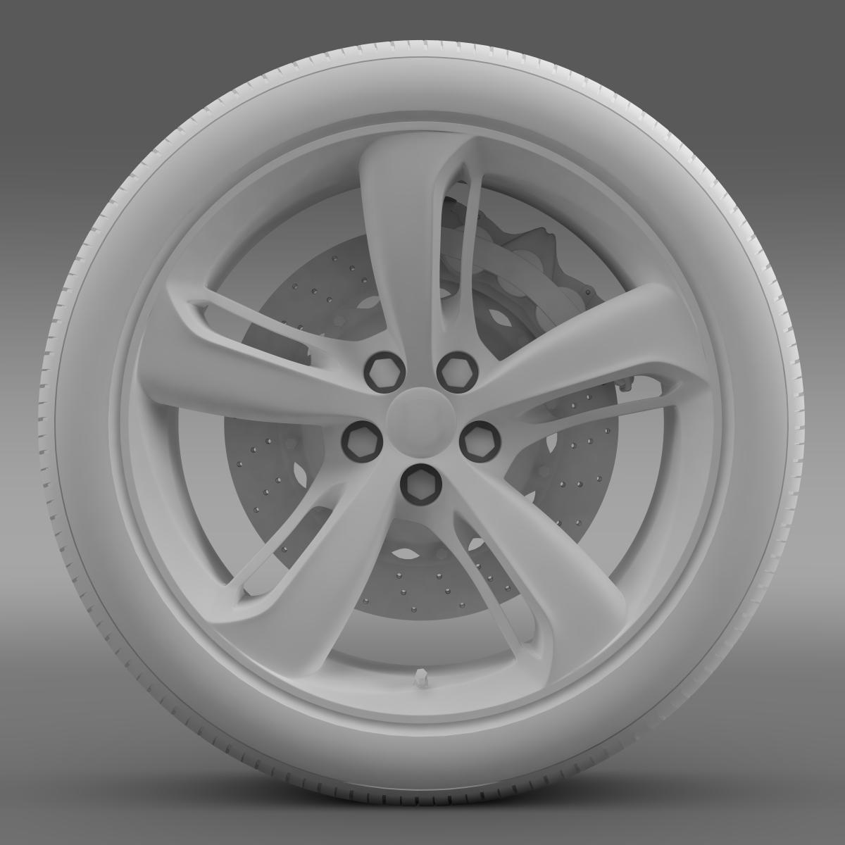 bentley continental gt speed 2015 wheel 3d model 3ds max fbx c4d lwo ma mb hrc xsi obj 210586