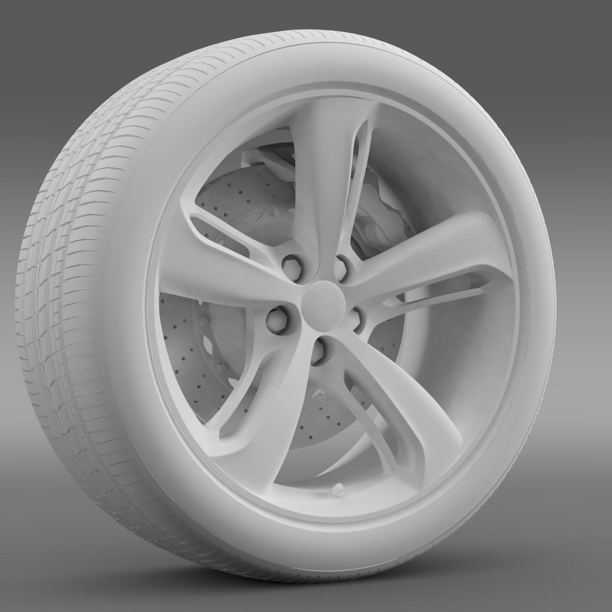 bentley continental gt speed 2015 wheel 3d model 3ds max fbx c4d lwo ma mb hrc xsi obj 210587