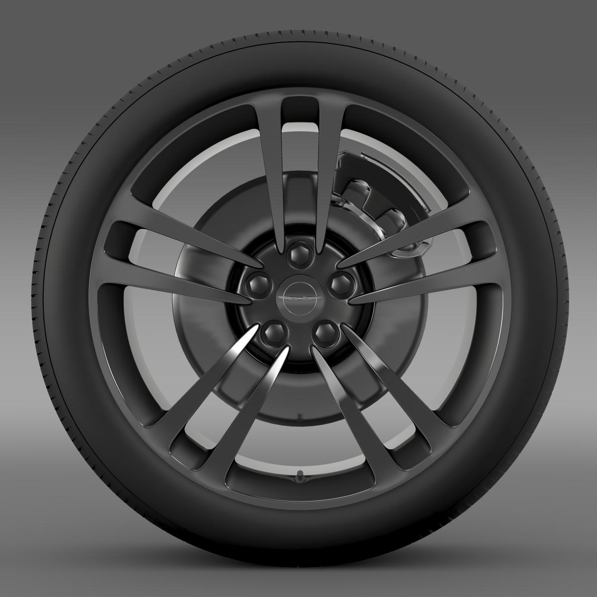 chrysler 300 srt8 core wheel 3d model 3ds max fbx c4d lwo ma mb hrc xsi obj 210627