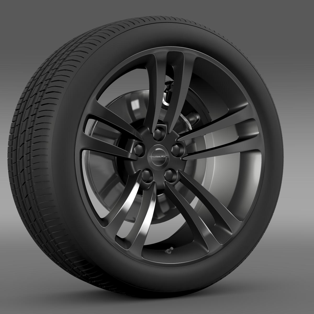 chrysler 300 srt8 core wheel 3d model 3ds max fbx c4d lwo ma mb hrc xsi obj 210628