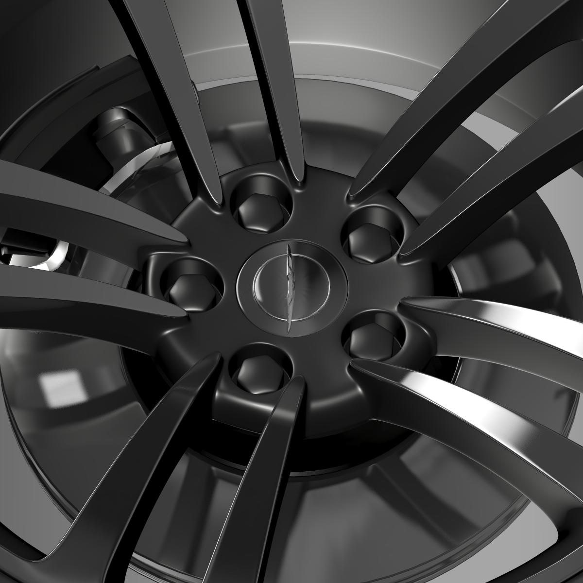 chrysler 300 srt8 core wheel 3d model 3ds max fbx c4d lwo ma mb hrc xsi obj 210631