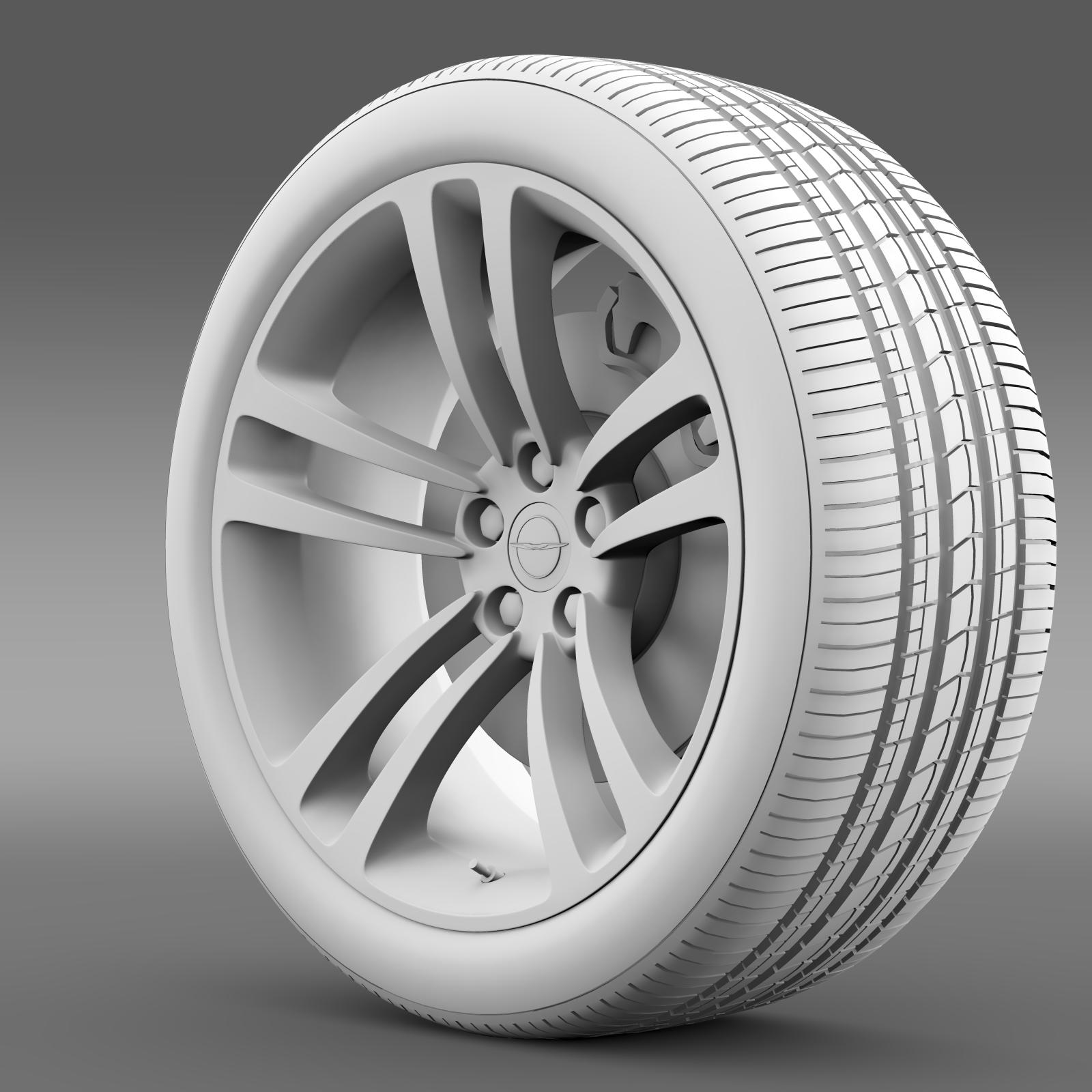 chrysler 300 srt8 core wheel 3d model 3ds max fbx c4d lwo ma mb hrc xsi obj 210632