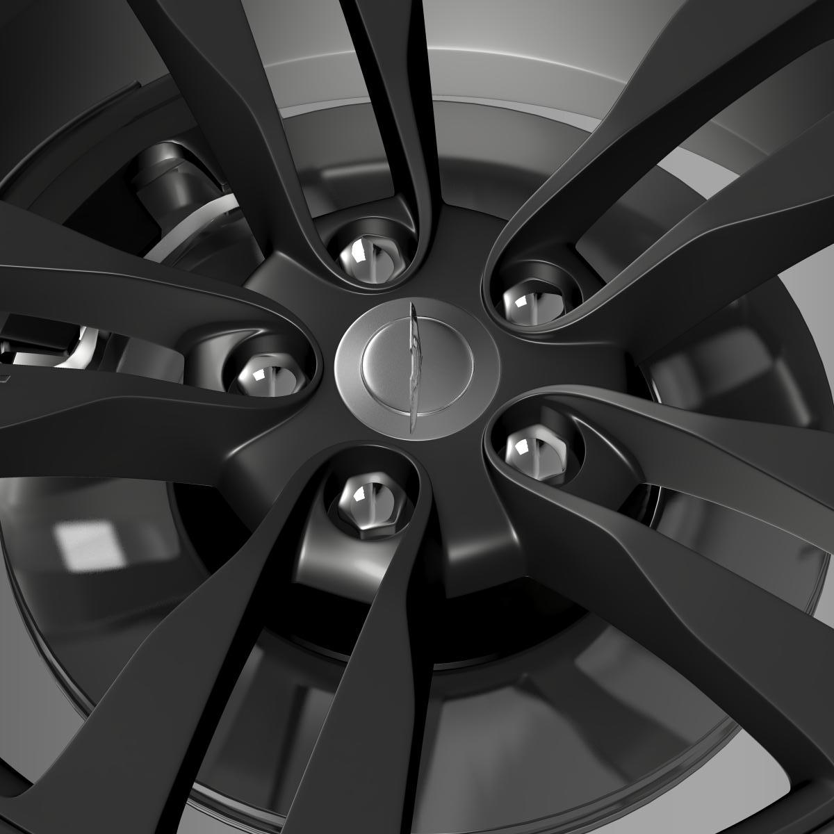 chrysler 300 srt8 satin vapor wheel 3d model 3ds max fbx c4d lwo ma mb hrc xsi obj 210645