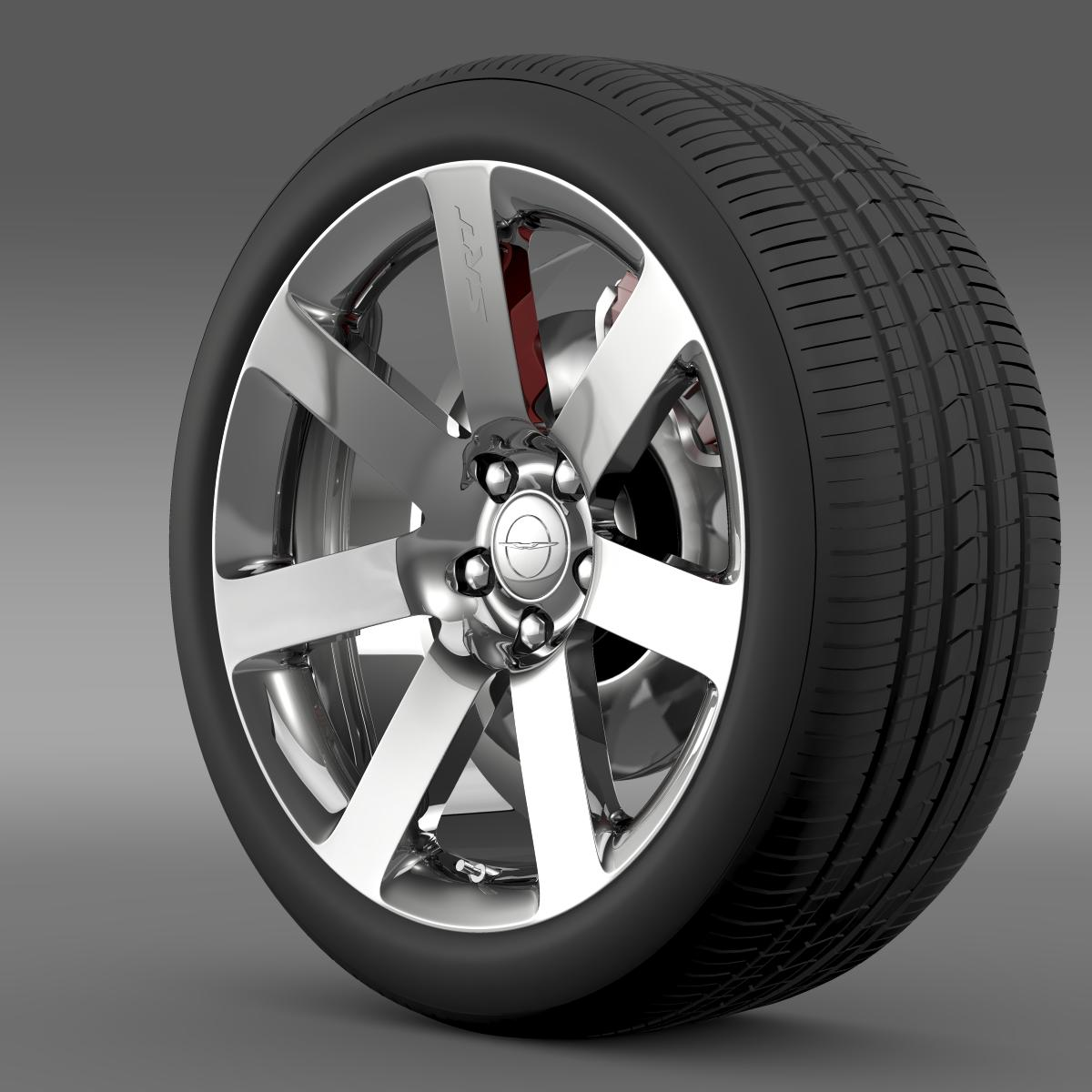 chrysler 300 srt8 wheel 3d model 3ds max fbx c4d lwo ma mb hrc xsi obj 210654
