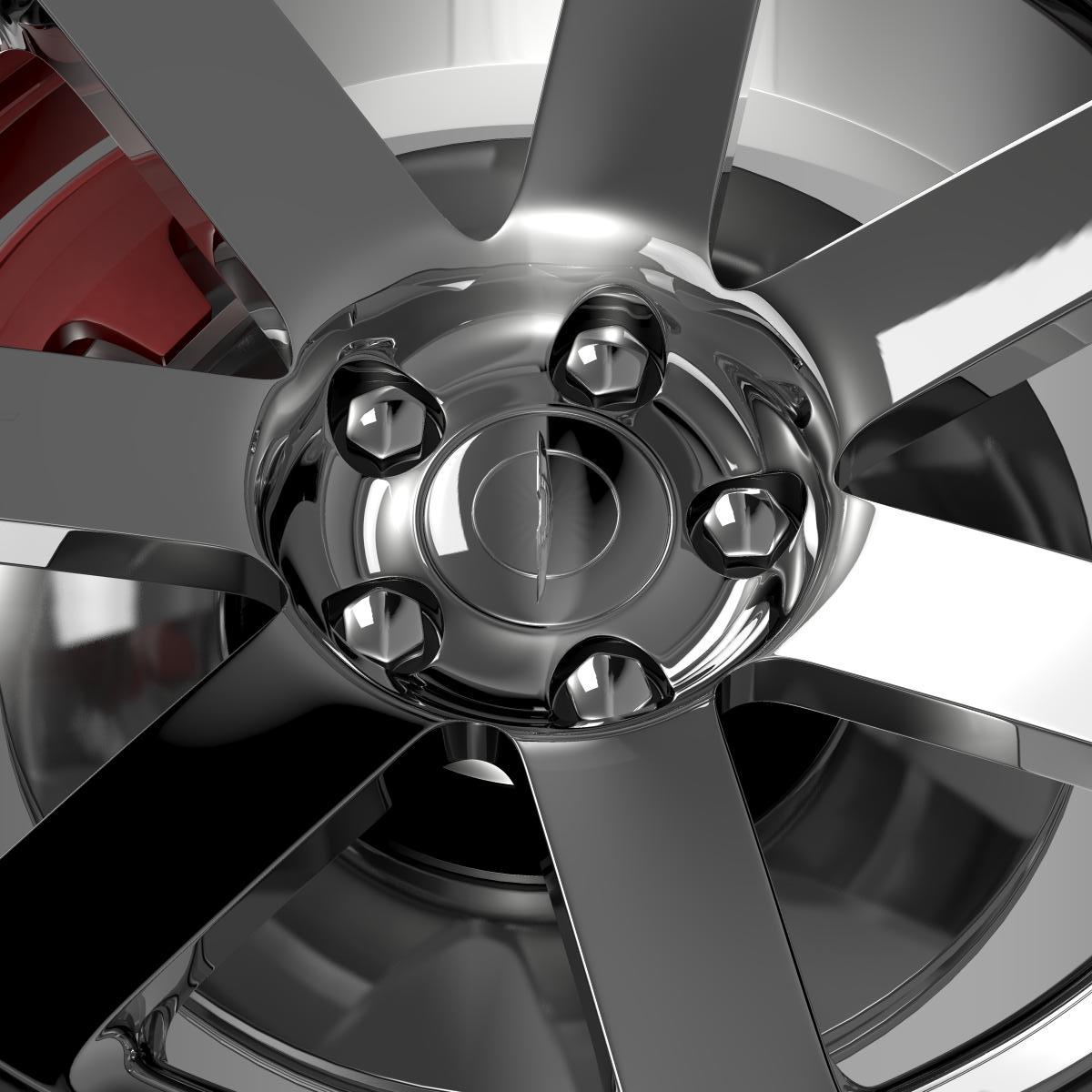 chrysler 300 srt8 wheel 3d model 3ds max fbx c4d lwo ma mb hrc xsi obj 210659