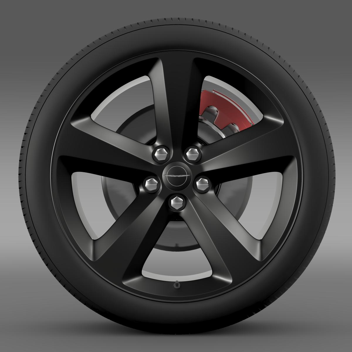 chrysler 300s wheel 3d model 3ds max fbx c4d lwo ma mb hrc xsi obj 210669