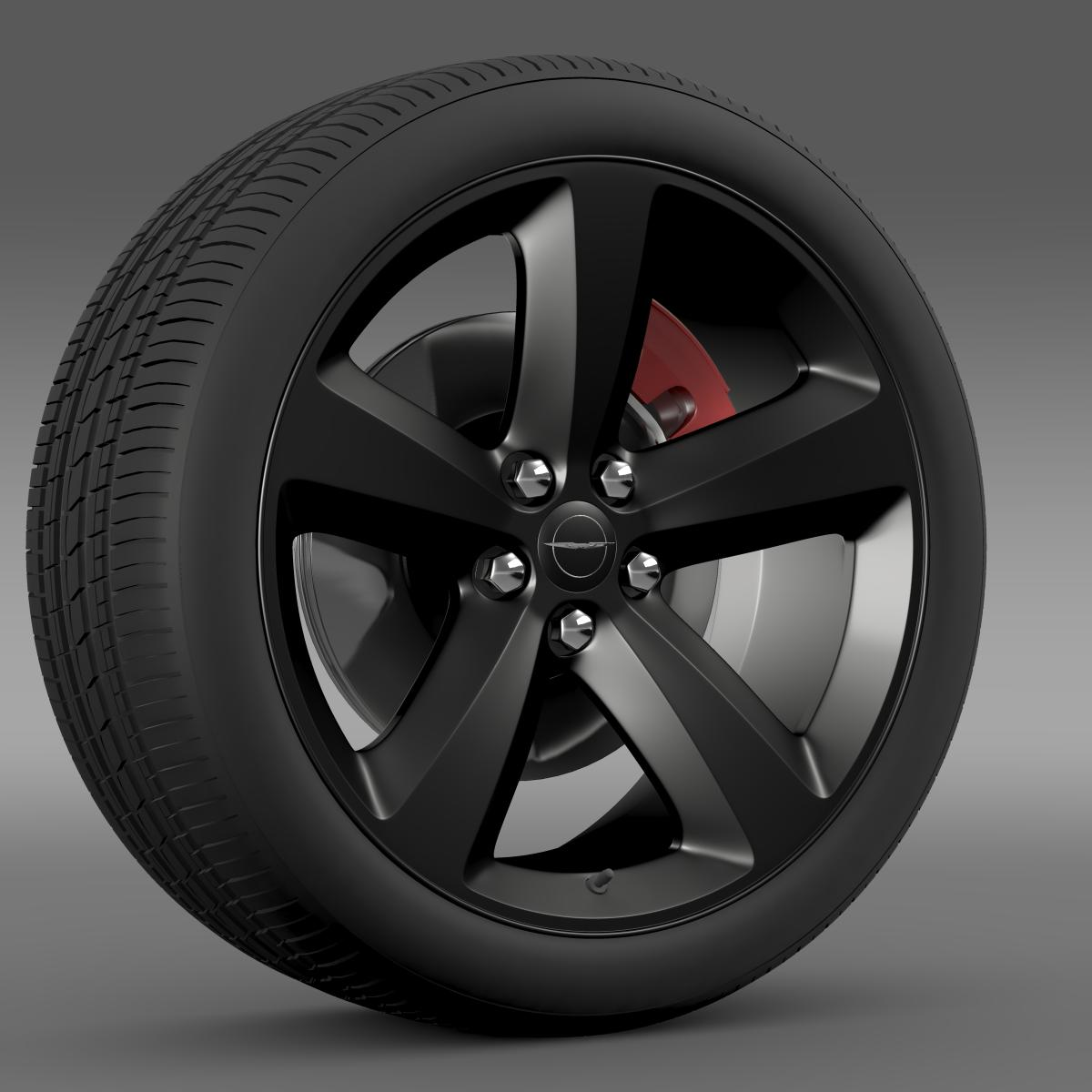 chrysler 300s wheel 3d model 3ds max fbx c4d lwo ma mb hrc xsi obj 210670