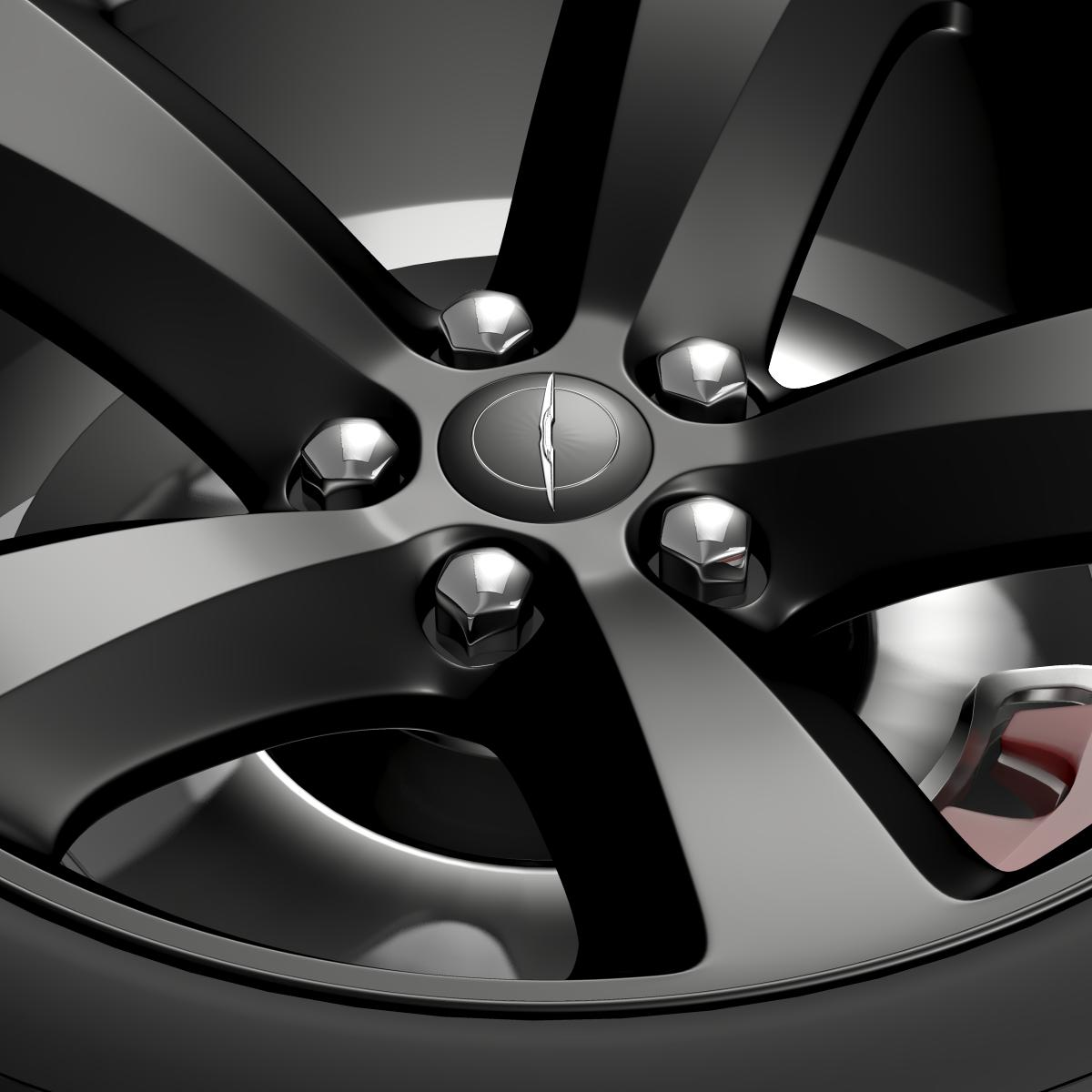 chrysler 300s wheel 3d model 3ds max fbx c4d lwo ma mb hrc xsi obj 210671