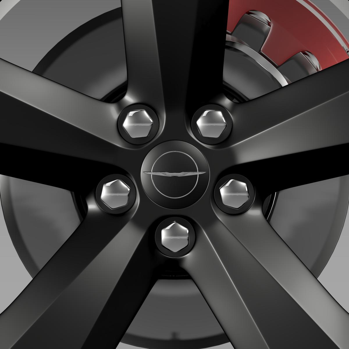 chrysler 300s wheel 3d model 3ds max fbx c4d lwo ma mb hrc xsi obj 210672