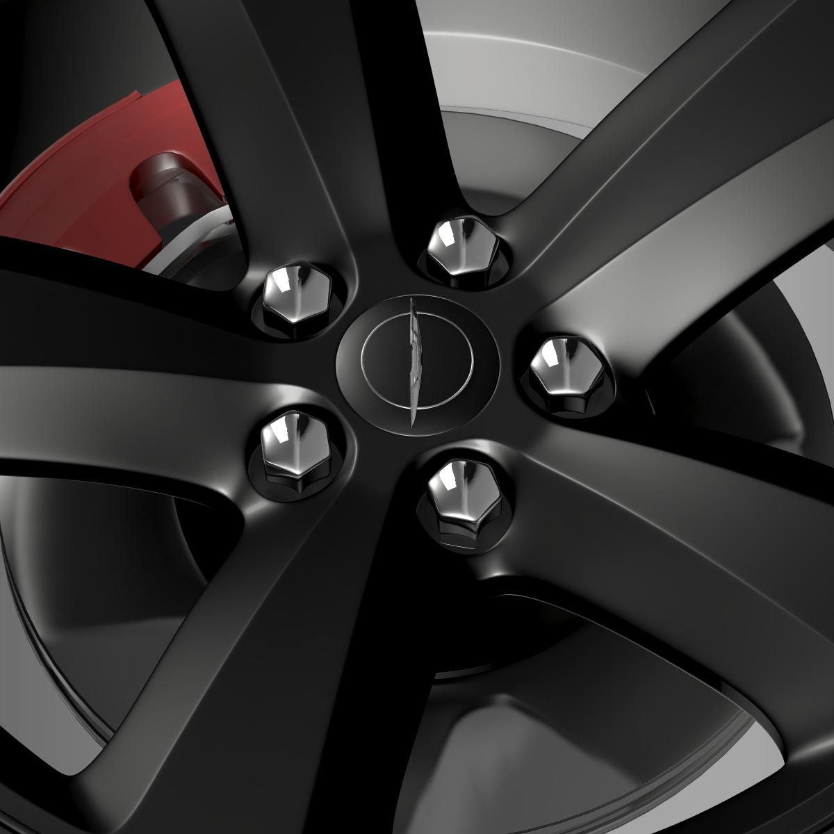 chrysler 300s wheel 3d model 3ds max fbx c4d lwo ma mb hrc xsi obj 210673