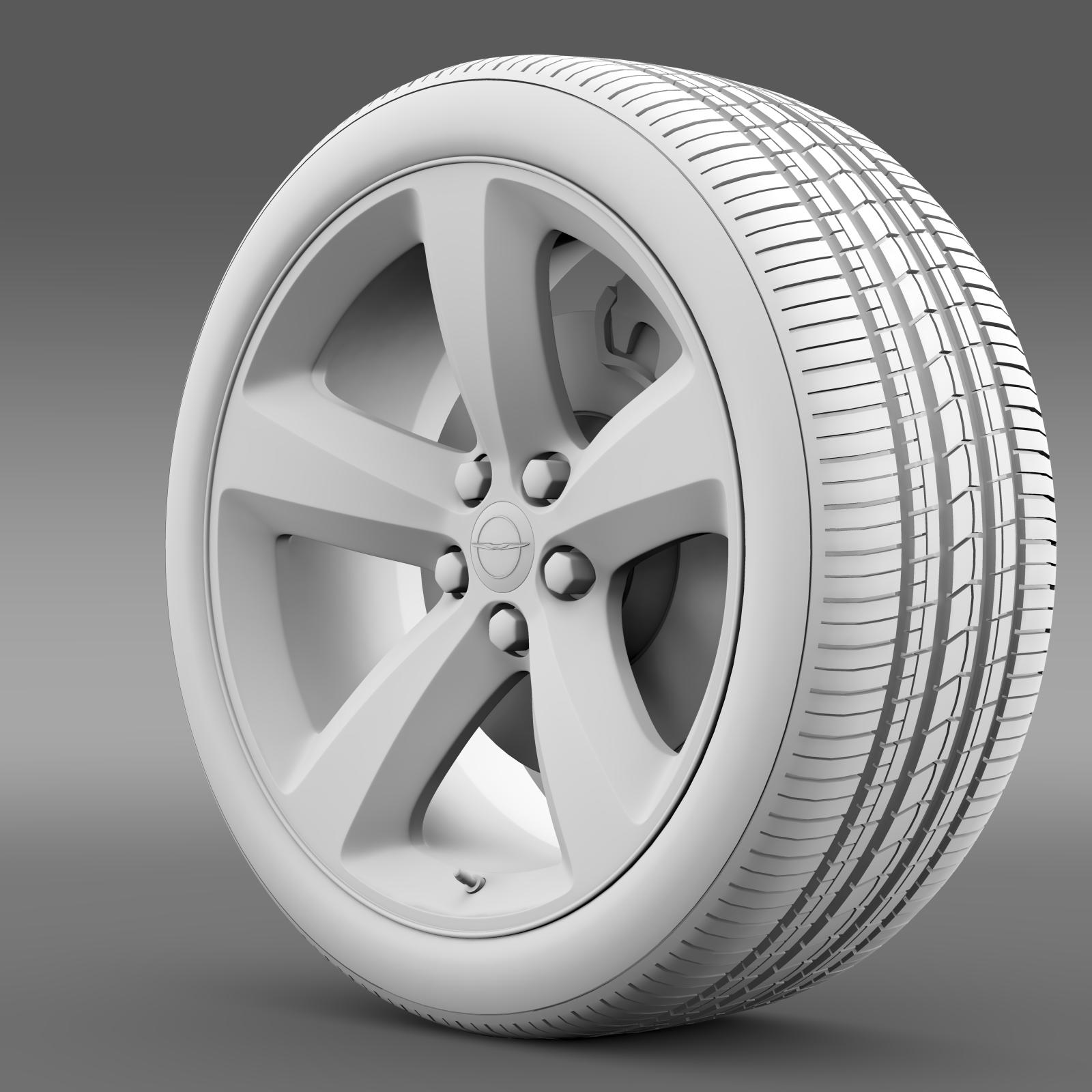 chrysler 300s wheel 3d model 3ds max fbx c4d lwo ma mb hrc xsi obj 210674