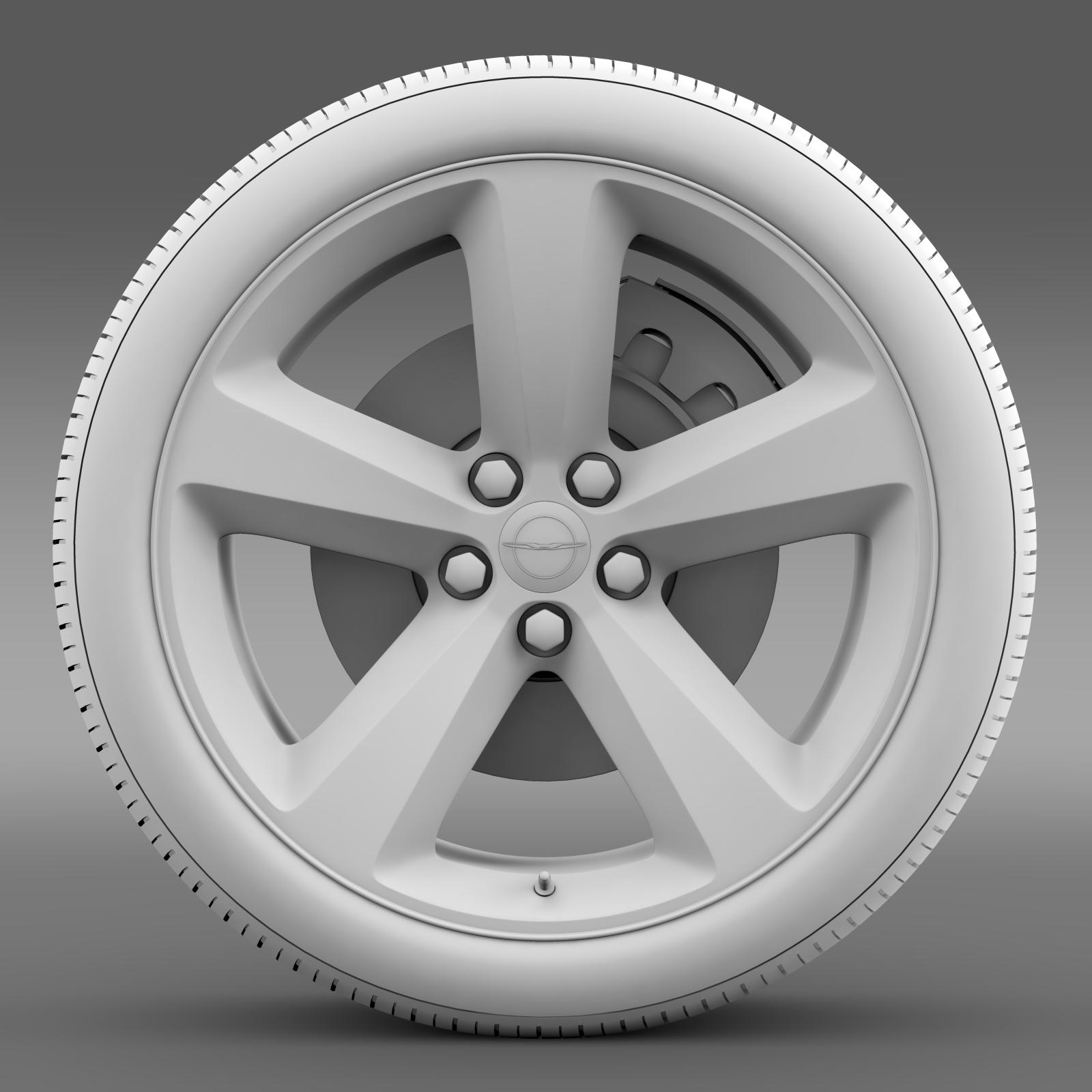 chrysler 300s wheel 3d model 3ds max fbx c4d lwo ma mb hrc xsi obj 210675