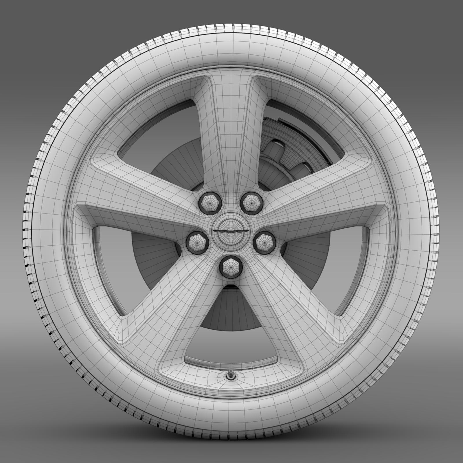 chrysler 300s wheel 3d model 3ds max fbx c4d lwo ma mb hrc xsi obj 210677