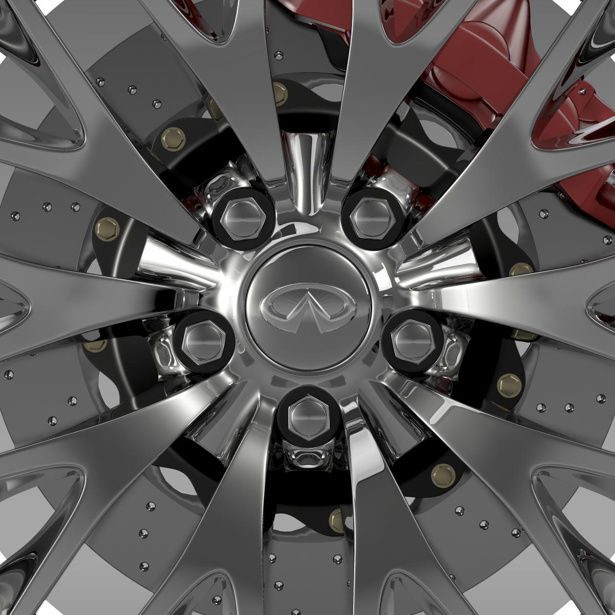 infinity ml wheel 3d model 3ds max fbx c4d lwo ma mb hrc xsi obj 210701